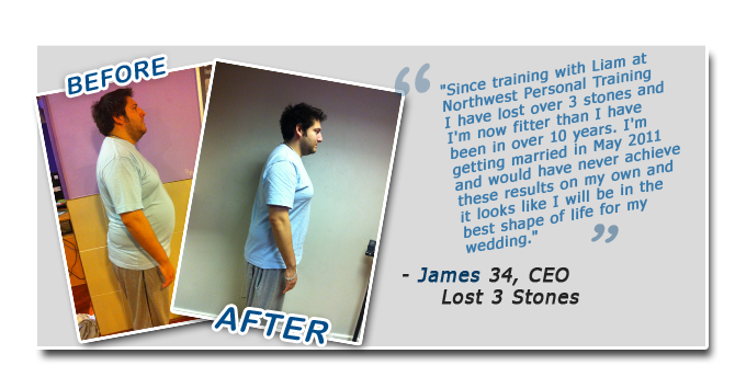 James Personal Trainer Manchester Review
