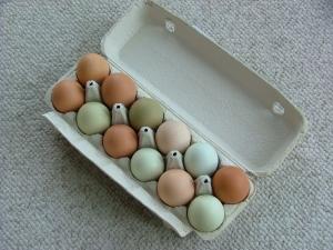 Eggs, good fats