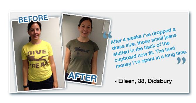 Eileen Northwest Personal Trainer Manchester Testimonial